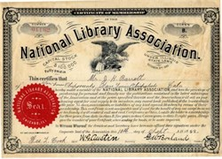 National Library Association - Illinois 1888