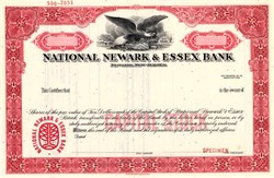National Newark & Essex Bank - New Jersey