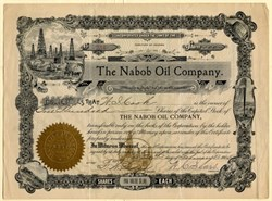 Nabob Oil Company - Territory of Arizona 1905