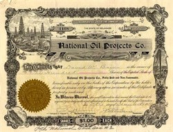 National Oil Projects Co. - Delaware 1919
