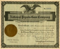 National Pepsin Gum Company - San Francisco, California 1923
