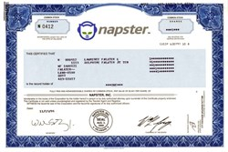 Napster, Inc. (Original pioneering peer-to-peer file sharing Internet service)