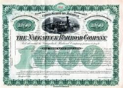 Naugatuck Railroad Company  - Connecticut 1883