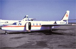 National Airlines postcard Commander 1121