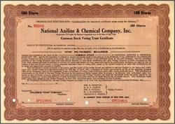 National Aniline & Chemical Company, Inc. 1918