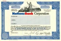 Nations Bank Corporation (Became Bank of America) - North Carolina 1991