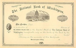 National Bank of Washington DC Stock