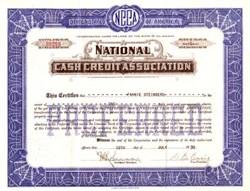 National Cash Credit Association 1930