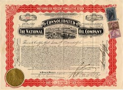 National Consolidated Oil Company - West Virginia 1902