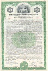National Distillers and Chemical Corp Bond