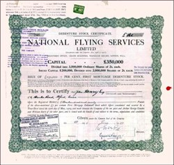 National Flying Services Limited 1929