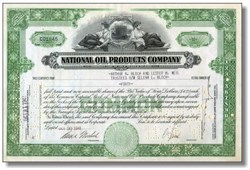 National Oil Products Company 1944