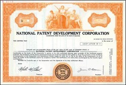 National Patent Development Corporation