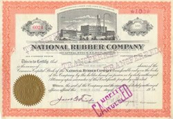 National Rubber Company 1917 - 1918