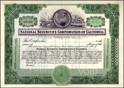 National Securities Corporation of California