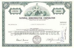 National Semiconductor Corporation - Charlie Sporck as president 1970
