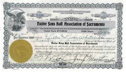 Native Sons Hall Association of Sacramento - Sutter Creek