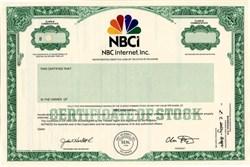 NBC Internet, Inc. (NBCI) - Delaware