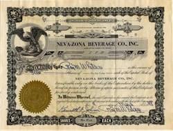 Neva-Zona Beverage Co., Inc. - Nevada 1948