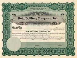 Nehi Bottling Company - Bryson City,  North Carolina 1927