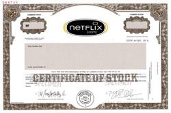 NetFlix.com (NetFlix) Pre IPO - Delaware 2000