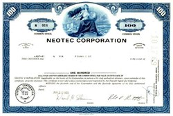 Neotec Corporation (NIRSystems )