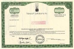 Newport Petroleums, Inc. - Colorado 1982