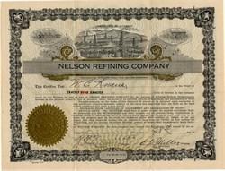 Nelson Refining Company - Arkansas 1923