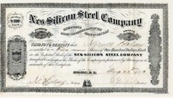 Nes-Silicon Steel Company - Rome, New York 1874
