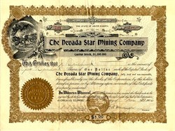 Nevada Star Mining Company - South Dakota 1906