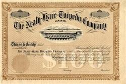 Nealy-Hare Torpedo Company (unique torpedo vignette) - West Virginia 18__