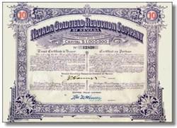Nevada Goldfield Reduction Company 1910