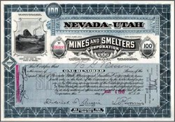 Nevada-Utah Mines and Smelters Corporation 1908