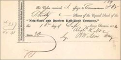 New York and Harlem Rail Road Company 1831