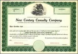 New Century Casualty Company - Illinois