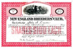 New England Breeders' Club (Illegal Horse Racing Operation) - New Hampshire 1905