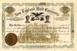 New England Malt Company - New Hampshire 1889