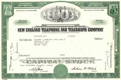 New England Telephone and Telegraph Company - 1963