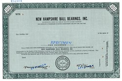 New Hampshire Ball Bearings, Inc. - New Hampshire