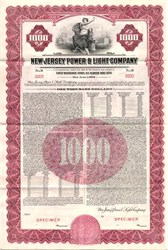 New Jersey Power & Light Company (Now FirstEnergy Corp.) - New Jersey 1948