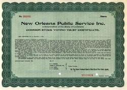 New Orleans Public Service Inc. 1922