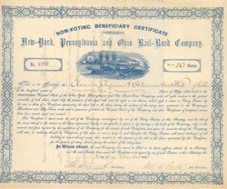 New York, Pennsylvania and Ohio Rail-Road Company 1881