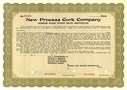 New Process Cork Company