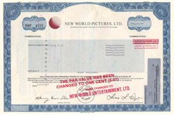 New World Pictures, Ltd.