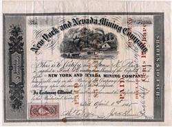 New York and Nevada Mining Company - 1865
