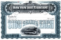 New York and Stamford Railway Company - New York 1905