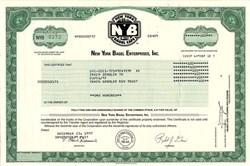 New York Bagel Enterprises, Inc. - Kansas 1997