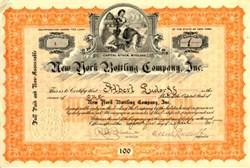 New York Bottling Company, Inc. - New York 1915