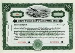 New York City Airport, Inc. - Flushing Airport , New York- 1929