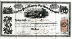 New York & Kentucky Oil & Mining Company (Cumberland Valley, Kentucky) - New York 1865